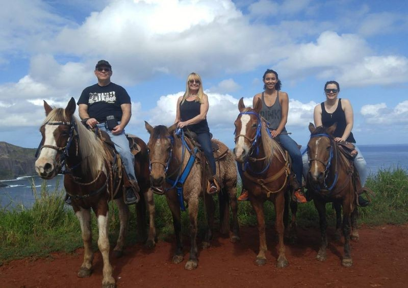 Horseback Riding on Maui.